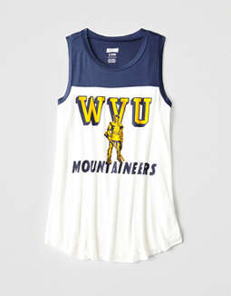 Tailgate Women's WVU Color Block Tank