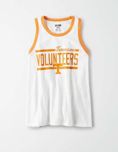 Tailgate Women's Tennessee Volunteers Ringer Tank Top