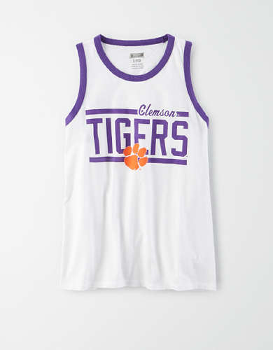 Tailgate Women's Clemson Tigers Ringer Tank Top