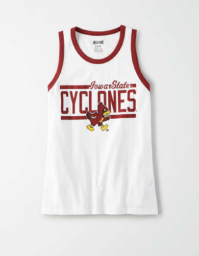 Tailgate Women's Iowa State Cyclones Ringer Tank Top