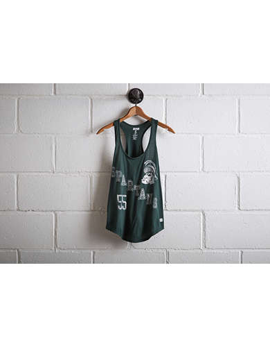 Tailgate Women's Michigan State Racerback Tank - Free Returns
