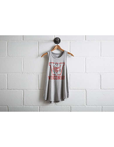 Tailgate Women's Wisconsin Badgers Tank - Free Returns