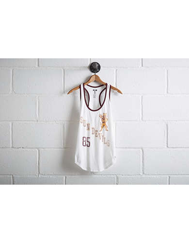 Tailgate Women's Arizona State Ringer Tank - Free Returns