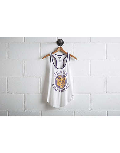Tailgate Women's LSU Ringer Tank - Free Returns