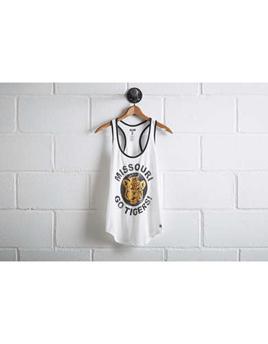 Tailgate Women's Missouri Ringer Tank - Free Returns