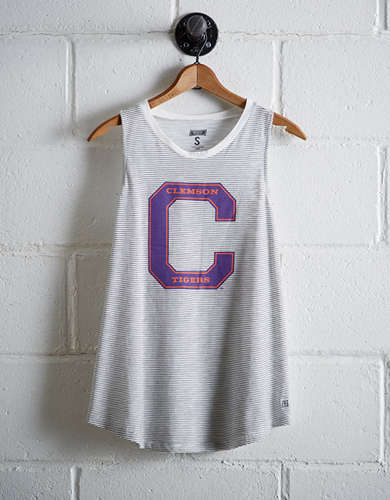 Tailgate Women's Clemson Scoop Neck Tee -