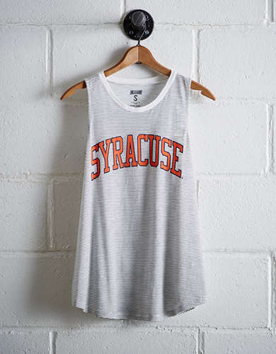 Tailgate Women's Syracuse Stripe Tank - Buy One Get One 50% Off
