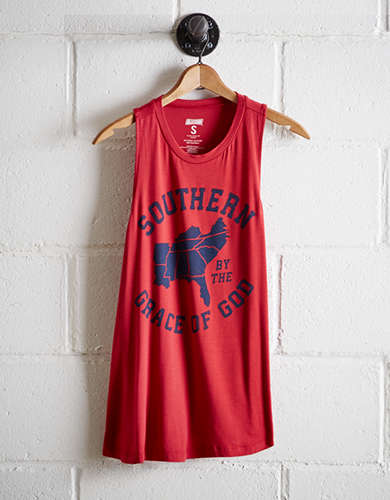 Tailgate Women's UGA Southern Grace Tank - Buy One, Get One 50% Off