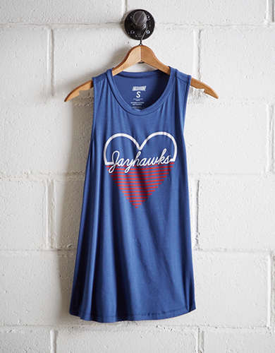 Tailgate Women's Kansas Jayhawks Tank - Free Returns