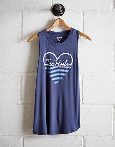 Tailgate Women's UNC Tar Heels Heart Tank - Buy One Get One 50% Off