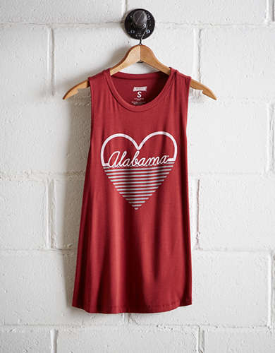 Tailgate Women's Alabama Heart Tank - Free Returns