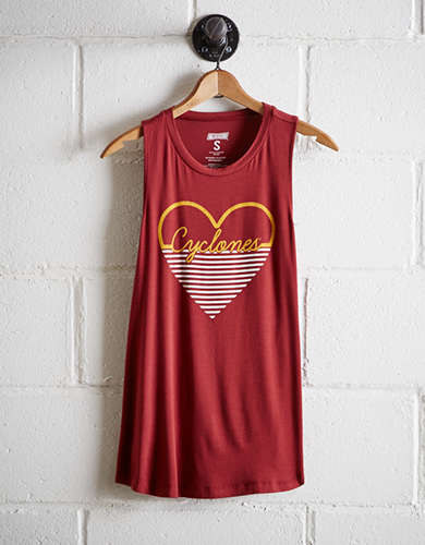 Tailgate Women's Iowa State Cyclones Tank - Free Returns