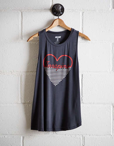 Tailgate Women's Maryland Heart Tank - Free Returns