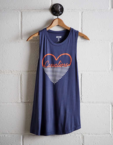 Tailgate Women's Virginia Heart Tank - Free Returns