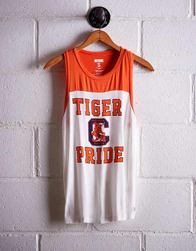 Tailgate Women's Clemson Colorblock Tank - Buy One Get One 50% Off
