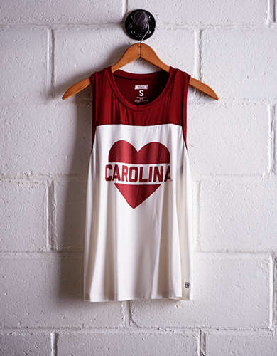 Tailgate Women's South Carolina Colorblock Tank -