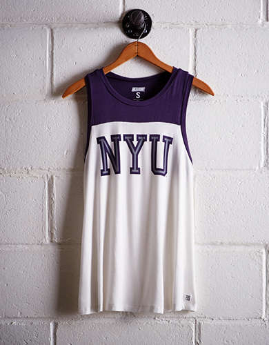 Tailgate Women's NYU Colorblock Tank - Free returns