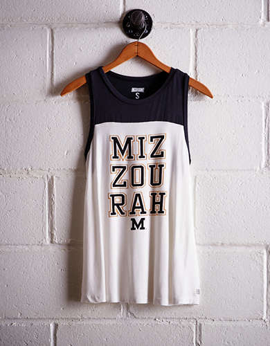 Tailgate Women's Missouri Colorblock Tank - Free Returns