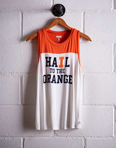 Tailgate Women's Illinois Colorblock Tank -