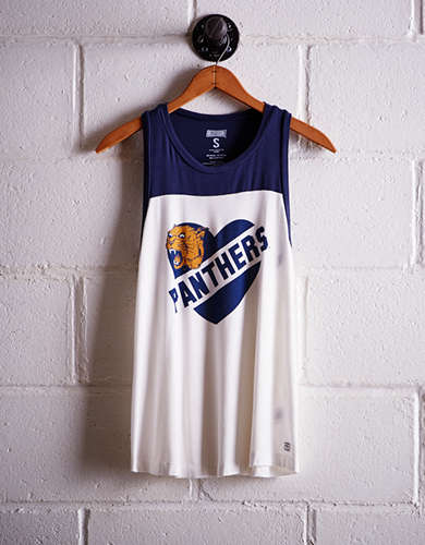 Tailgate Women's Pittsburgh Colorblock Tank -