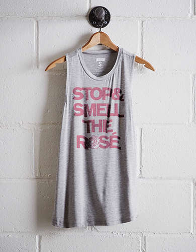 Tailgate Women's Smell The Rosé Tank - Free Returns