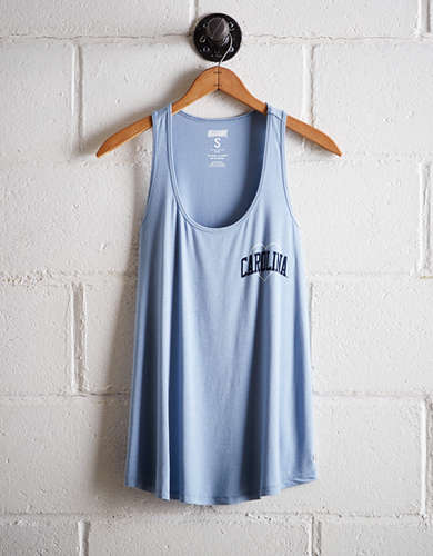 Tailgate Women's UNC Tar Heels Scoop Neck Tank - Free Returns