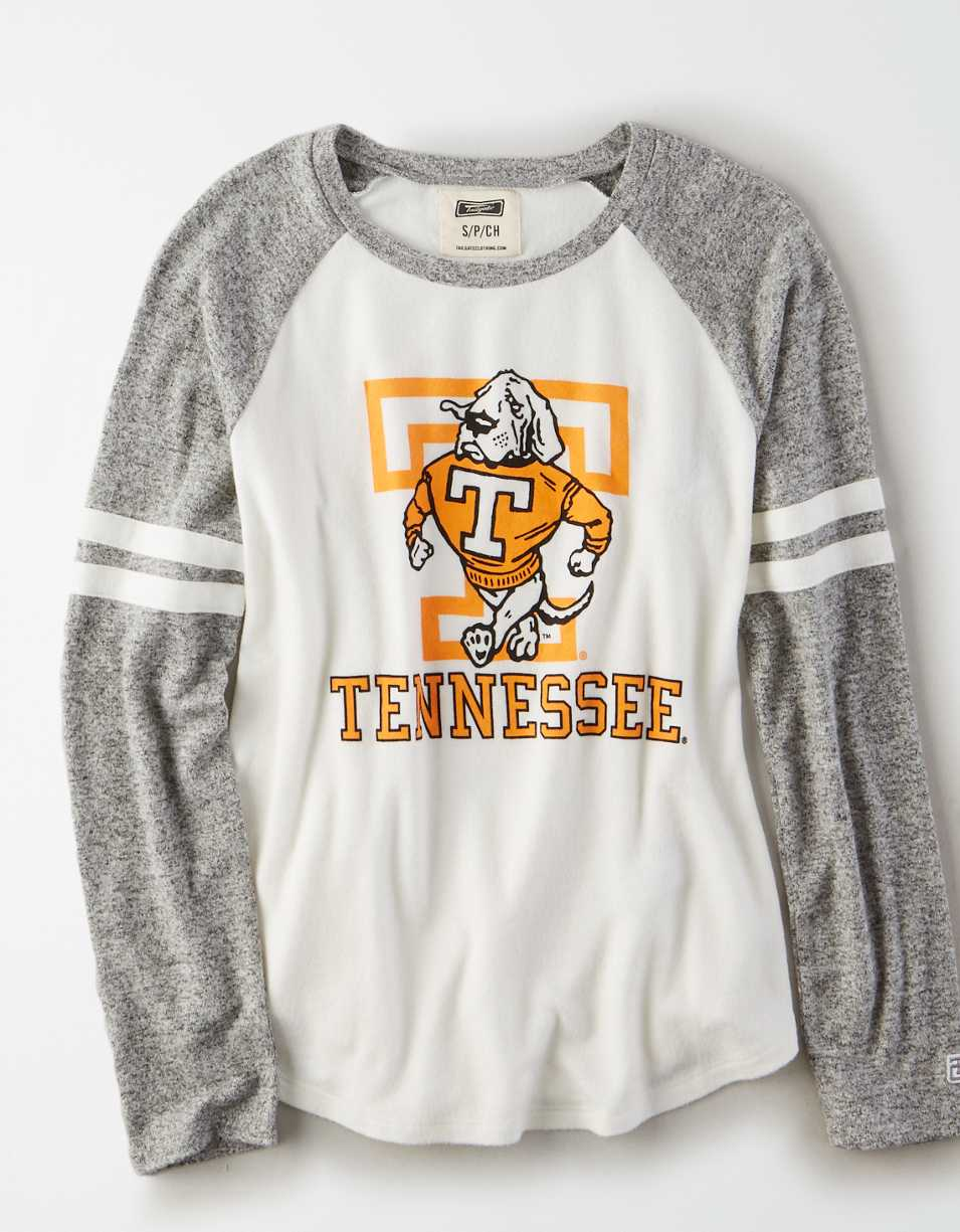 Tailgate Women's Tennessee Volunteers Plush Raglan Shirt