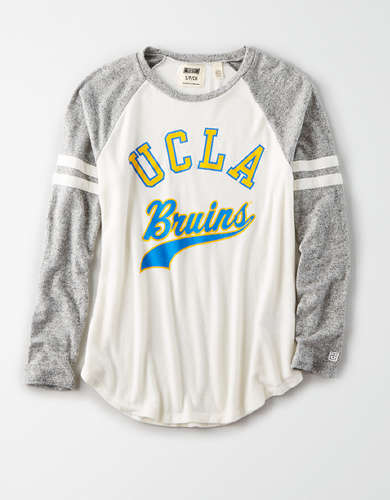 Tailgate Women's UCLA Bruins Plush Raglan Shirt