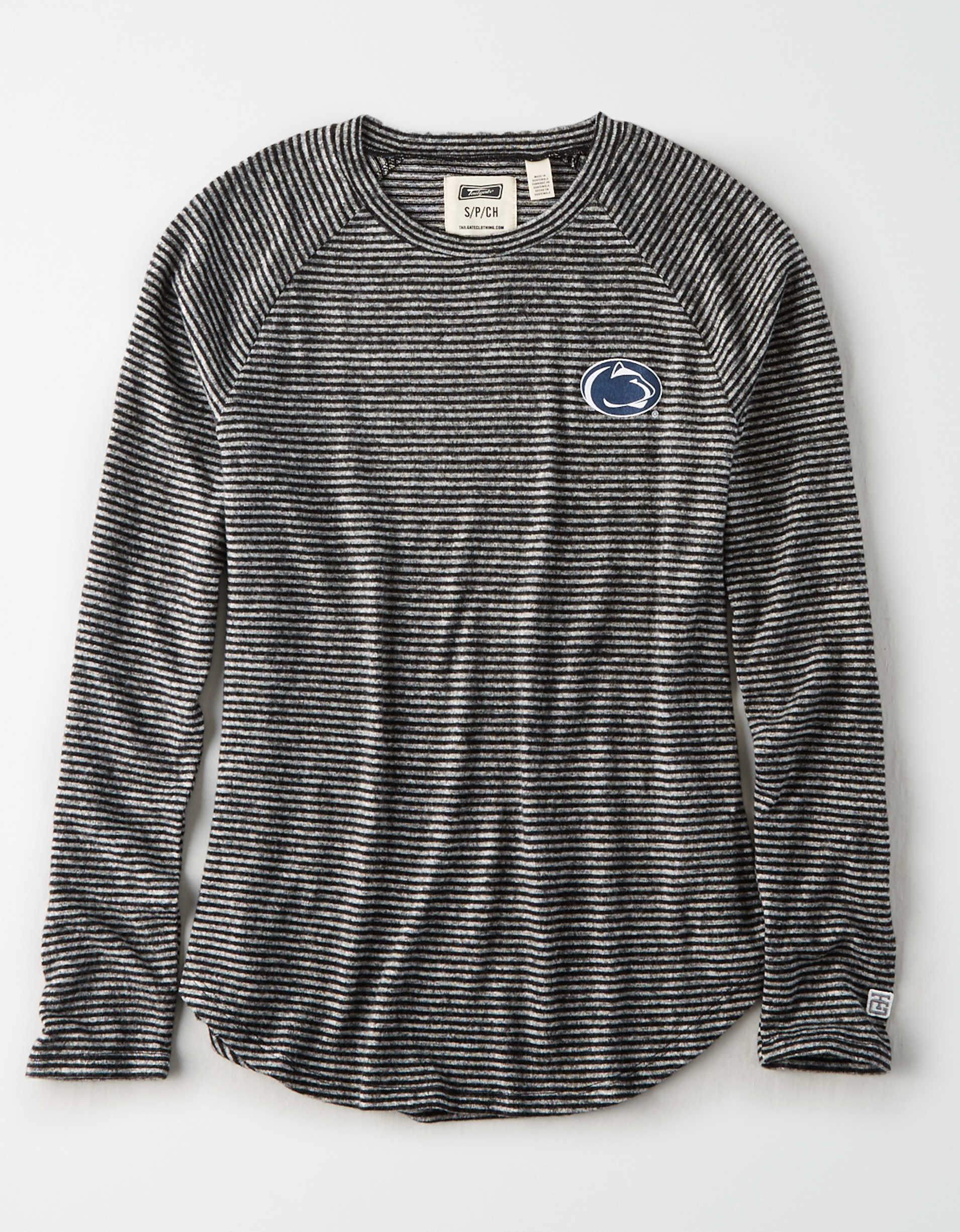 Tailgate Women's PSU Nittany Lions Long Sleeve Plush T-Shirt
