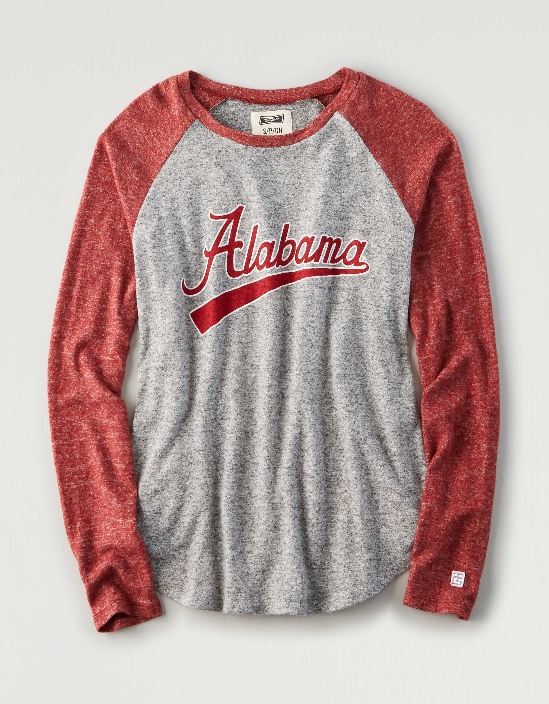 Tailgate Women's Alabama Long Sleeve Plush T-Shirt