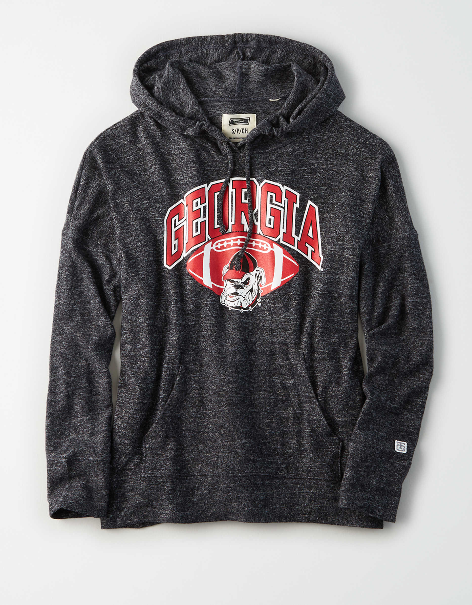 Tailgate Women's Georgia Bulldogs Plush Hoodie
