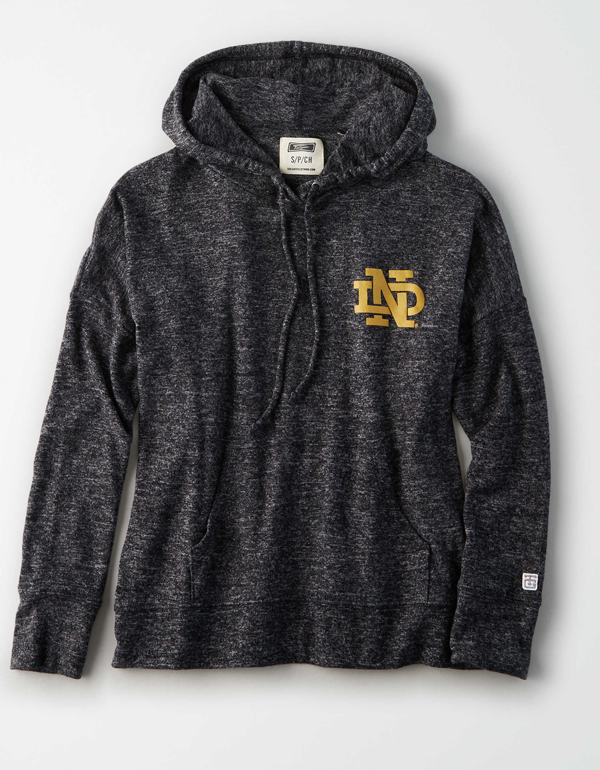 Tailgate Women's Notre Dame Plush Hoodie