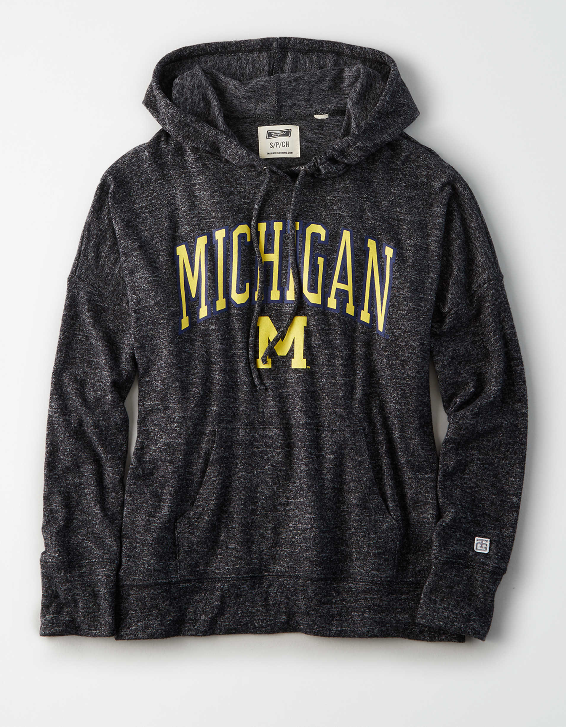 Tailgate Women's Michigan Wolverines Plush Hoodie