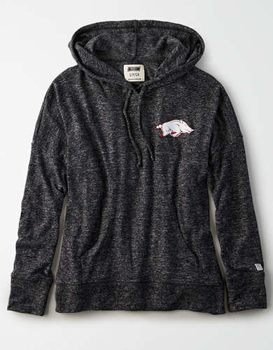 Tailgate Women's Arkansas Razorbacks Plush Hoodie
