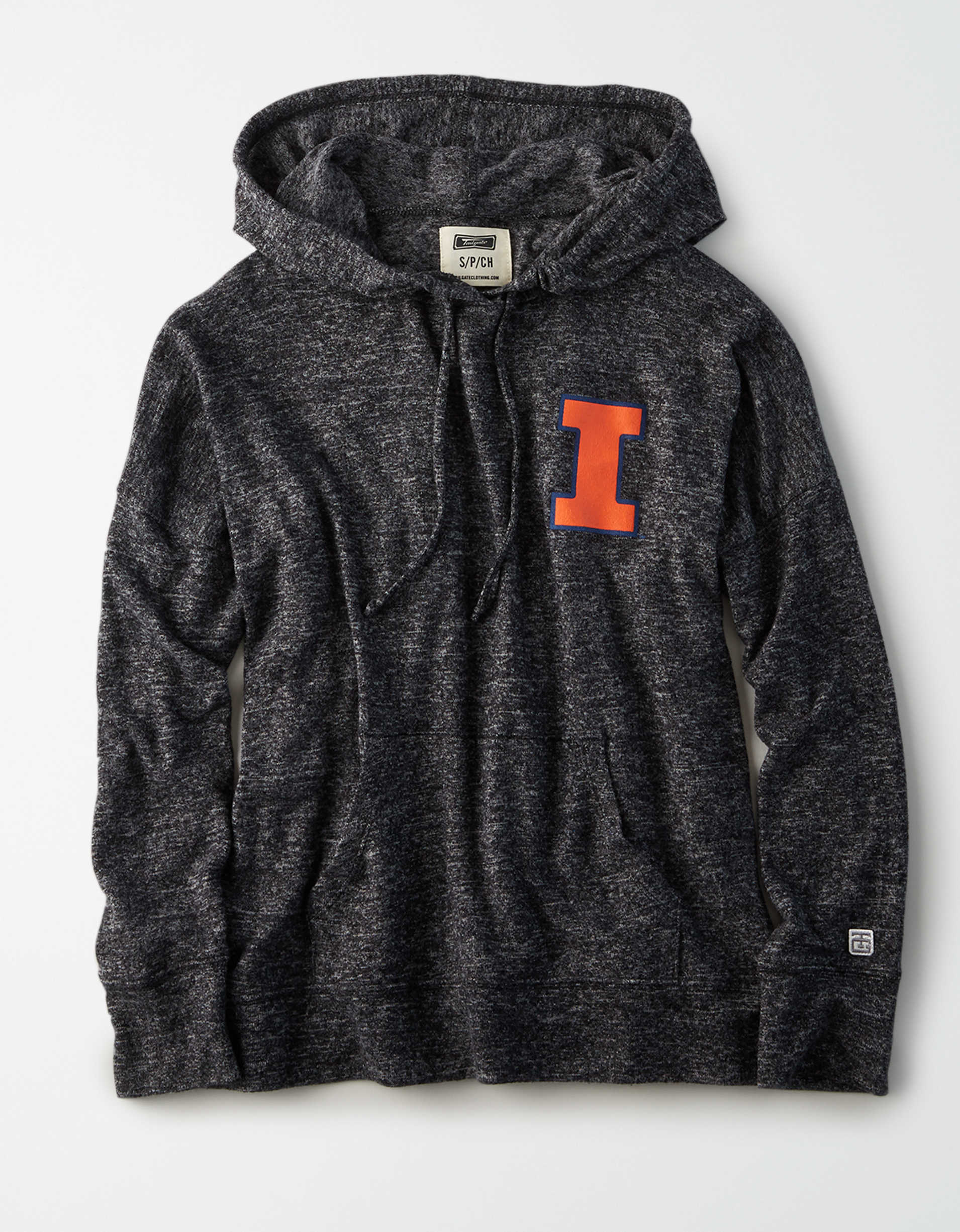 Tailgate Women's Illinois Fightin' Illini Plush Hoodie