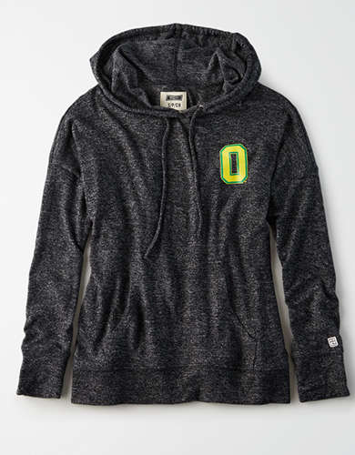 Tailgate Women's Oregon Ducks Plush Hoodie