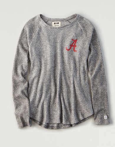 Tailgate Women's Alabama Crimson Tide Waffle Shirt