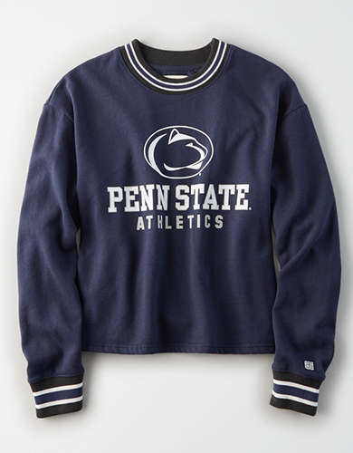 Tailgate Women's Penn State Tipped Fleece Sweatshirt