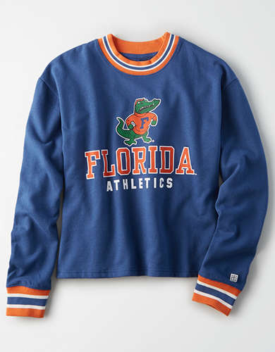 Tailgate Women's Florida Gators Tipped Fleece Sweatshirt