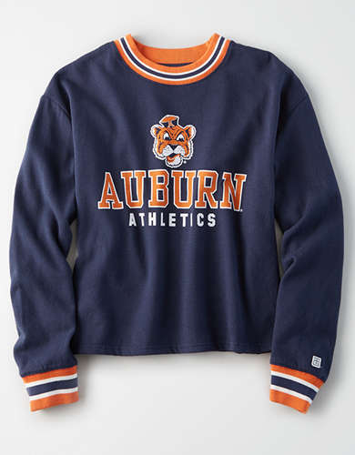 Tailgate Women's Auburn Tigers Tipped Fleece Sweatshirt