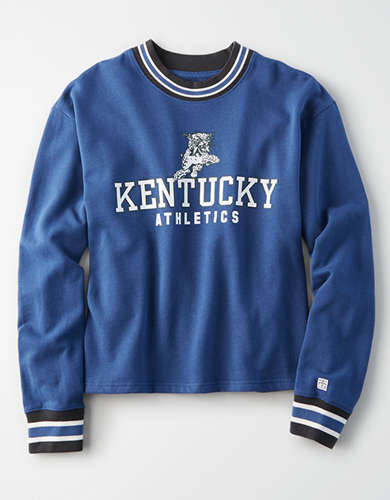 Tailgate Women's Kentucky Wildcats Tipped Fleece Sweatshirt