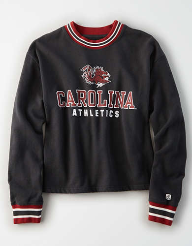 Tailgate Women's Carolina Gamecocks Tipped Fleece Sweatshirt