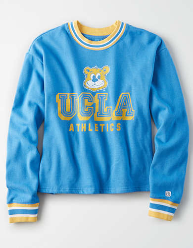 Tailgate Women's UCLA Bruins Tipped Fleece Sweatshirt