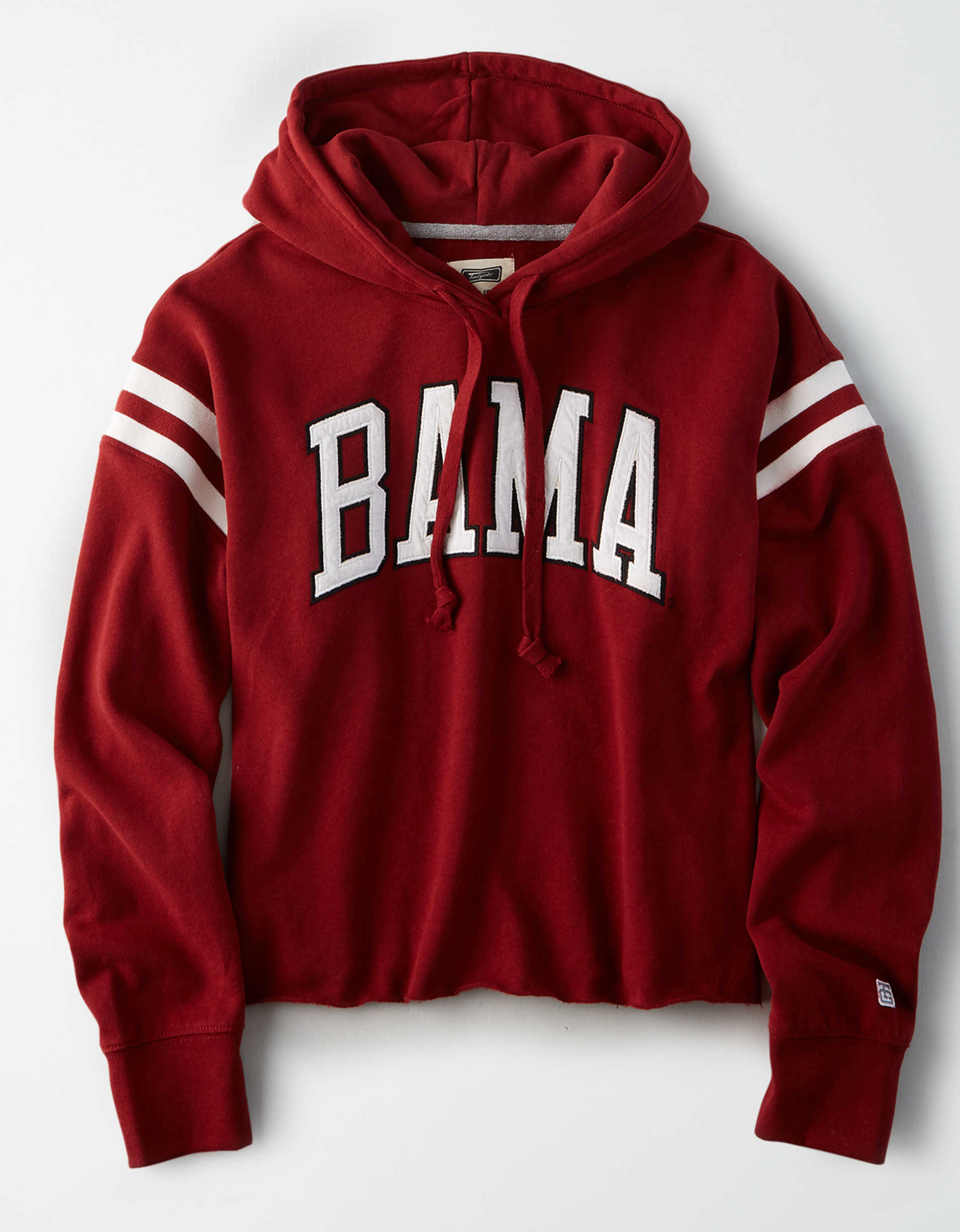 Tailgate Women's Alabama Cropped Fleece Hoodie