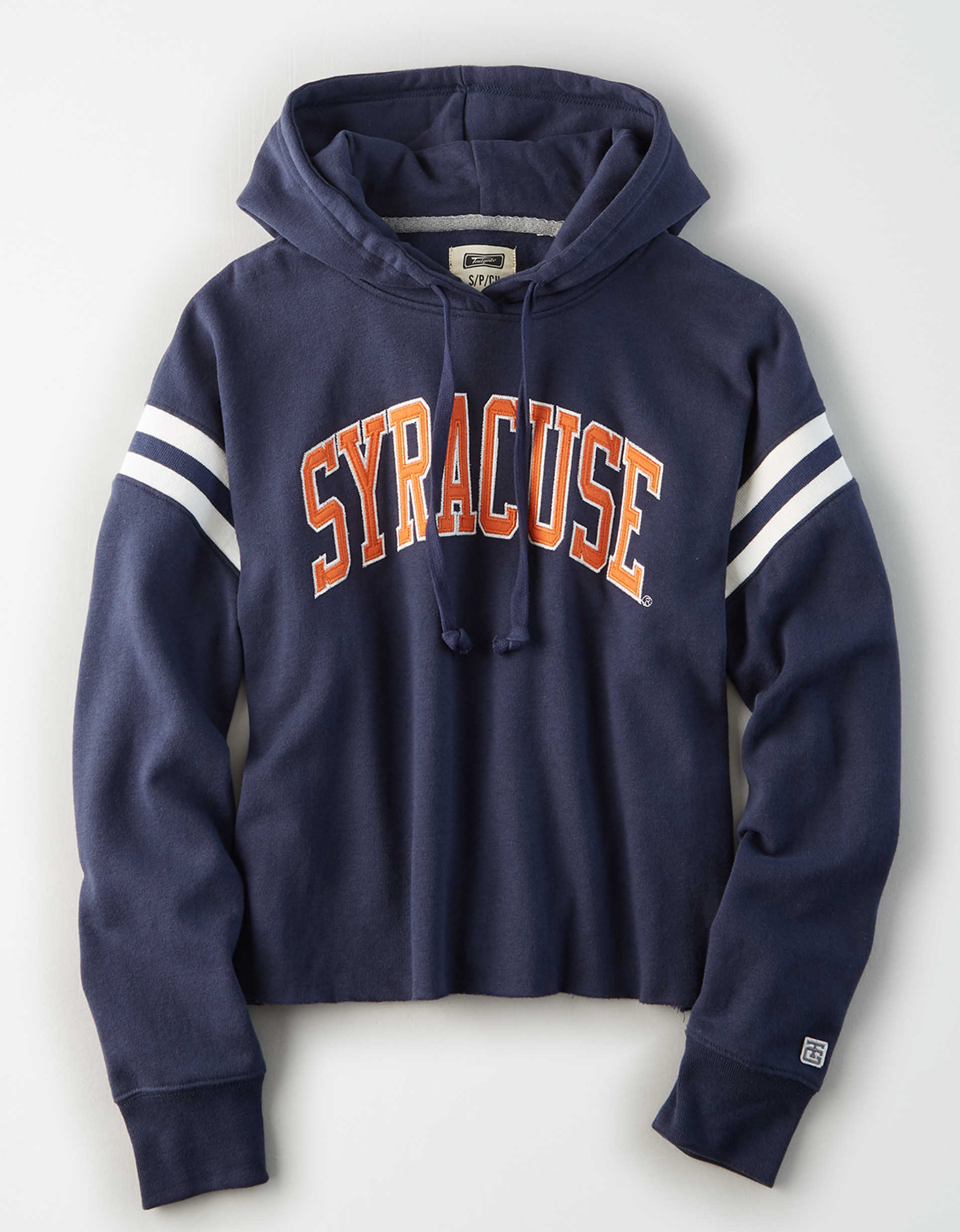 Tailgate Women's Syracuse Cropped Fleece Hoodie