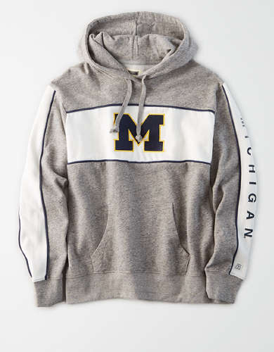 Tailgate Women's Michigan Wolverines Fleece Hoodie