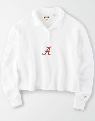 Tailgate Women's Alabama Crimson Tide Cropped Rugby