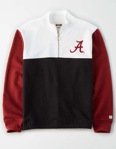 Tailgate Women's Alabama Crimson Tide Quarter-Zip Sweatshirt