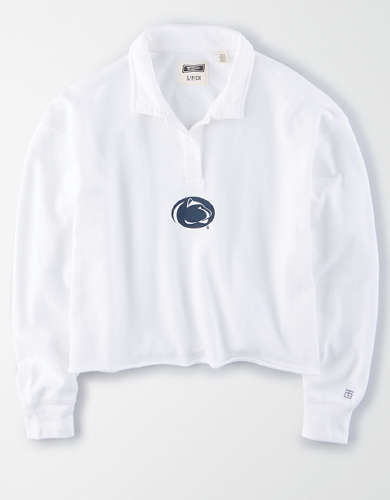 Tailgate Women's Penn State Cropped Rugby