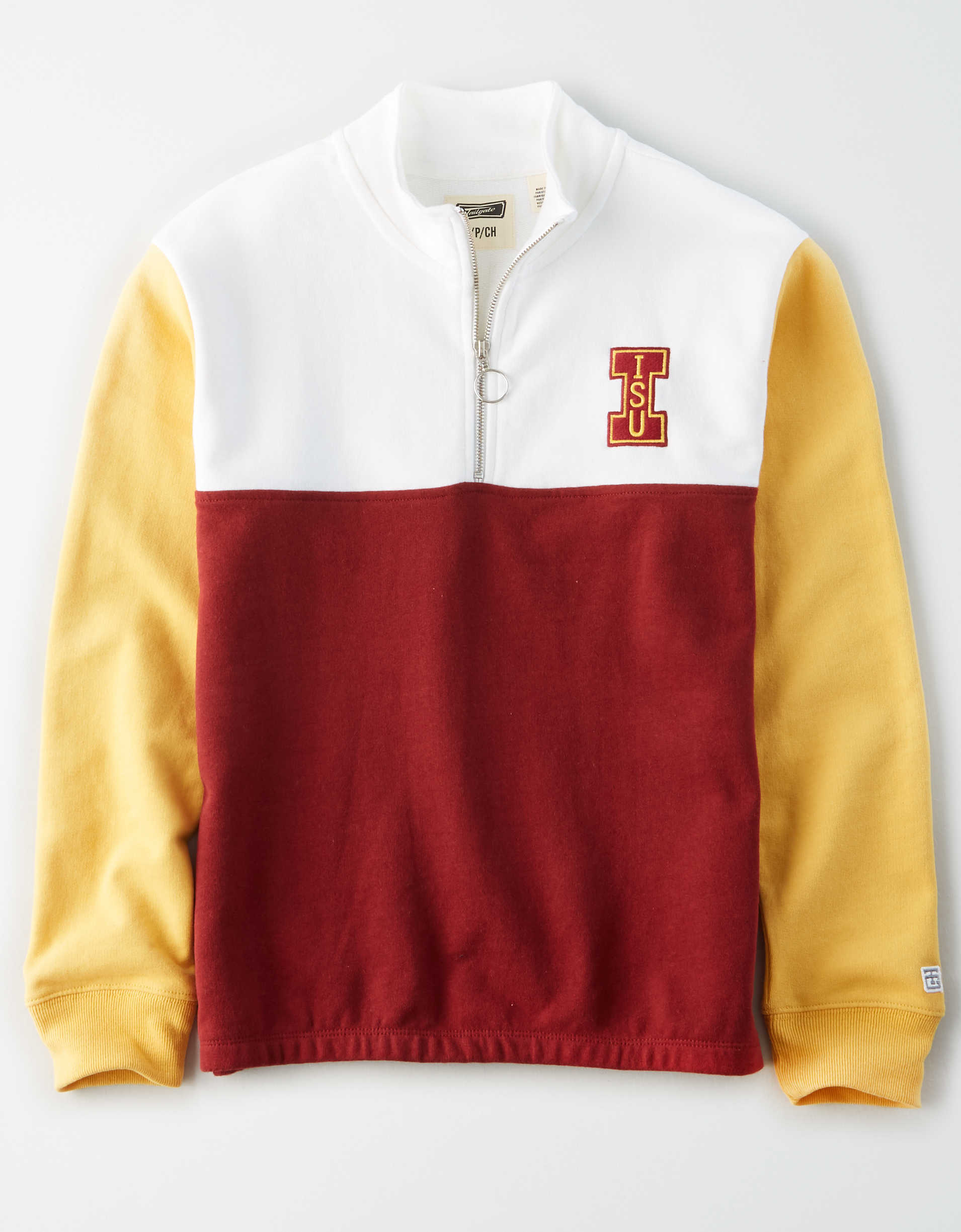 Tailgate Women's ISU Cyclones Quarter-Zip Sweatshirt